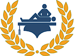 Somatic Arts & Sciences Logo - Wreath and Massage Table